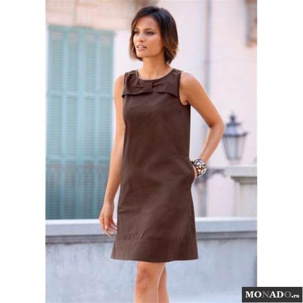 Модное прямое платье своими руками 72