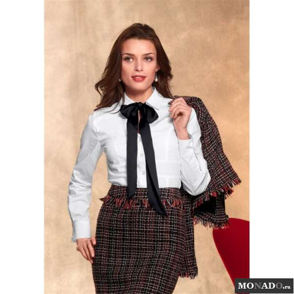 Купить Блузку С Бантом В Новосибирске