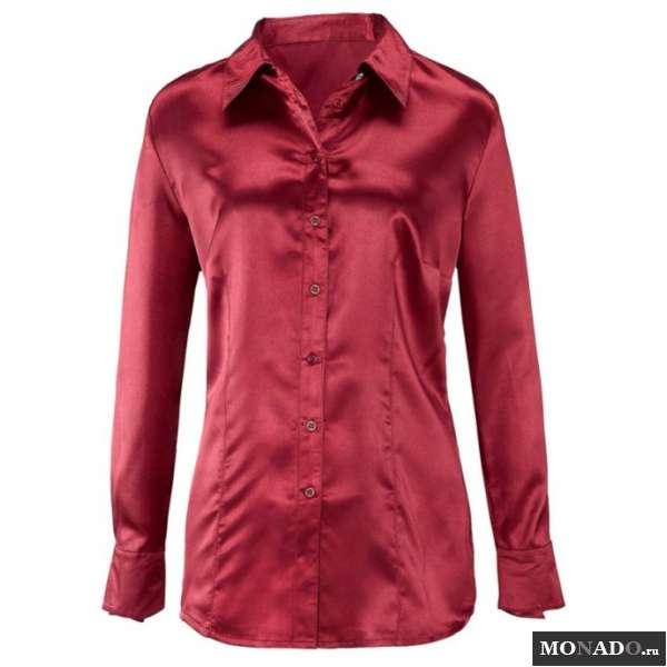 Женская Блузка С Запонками