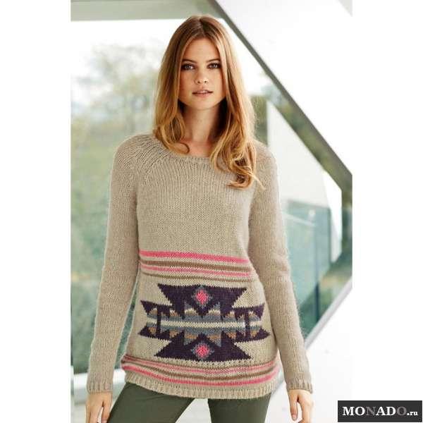Вязаный Свободный Пуловер Доставка