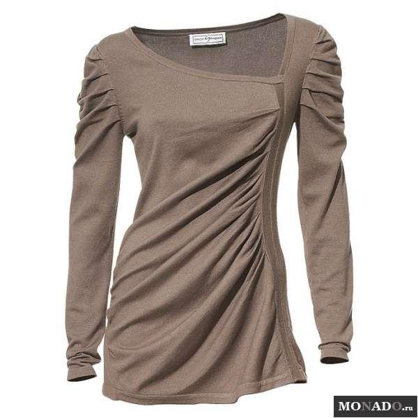Асимметричный Пуловер С Доставкой