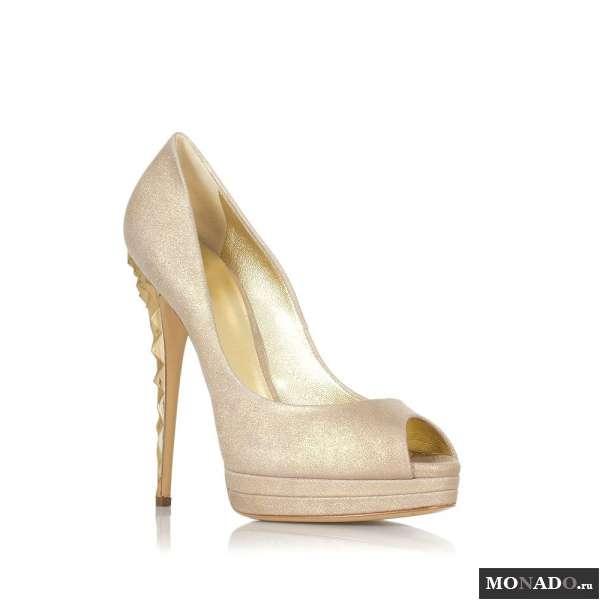 Купить золотые туфли в ростове