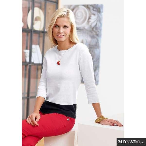 Белый Пуловер Женский С Доставкой