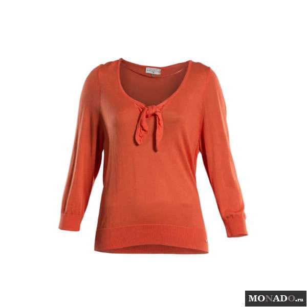 Оранжевый Пуловер Доставка