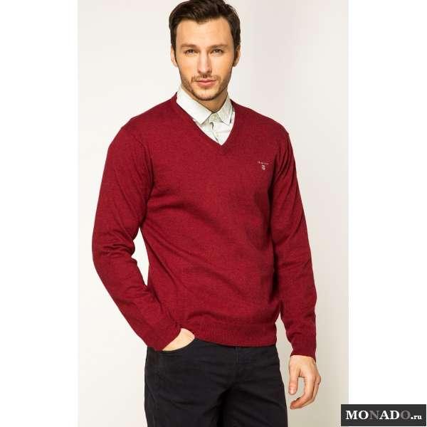 Пуловер Красный Мужской С Доставкой
