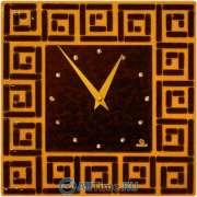 Настенные часы Glass Deco DGC-S-R1