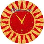 Настенные часы Glass Deco DGC-R-L4