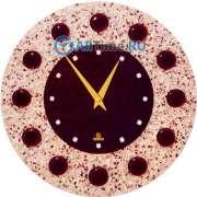 Настенные часы Glass Deco DGC-R-B6