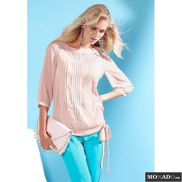 Купить Блузку С Бантом Доставка